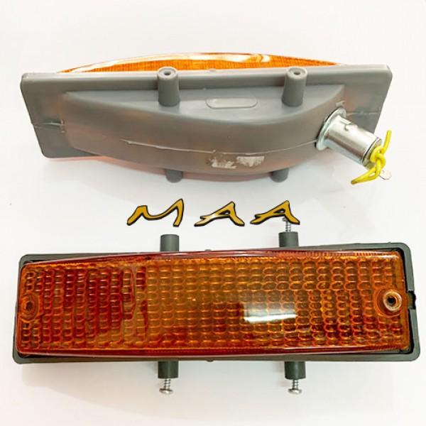 Lanterna dianteira da Variant e Tl 1973 em diante , completa , ambar, PAR