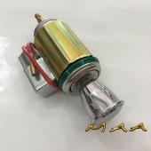 Acendedor de cigarro universal para Fusca, Kombi, Karmann ghia, botão cromado