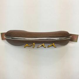 Apoio de braço, descansa braço do Fusca até 1973, Lado Esquerdo, Courvin Jacarandá, UN