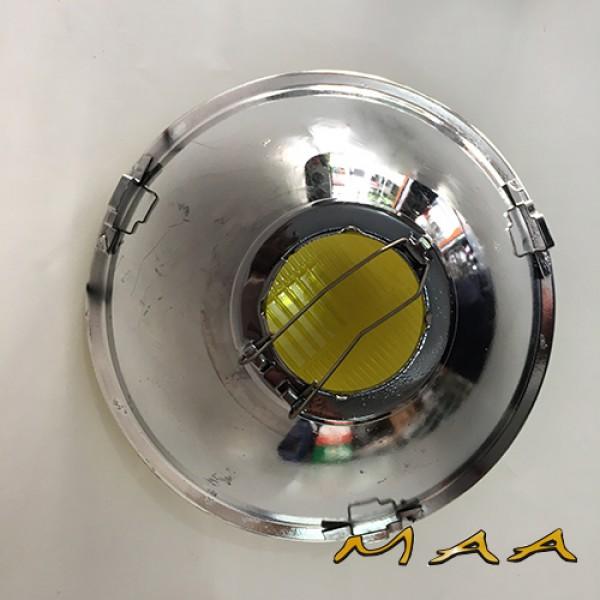 BLOCO DE FAROL 180mm AMARELO ( SEM VIGIA ) - UN