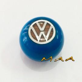 Bola de câmbio azul do Fusca, Variant,TL, Karmann ghia, Brasília (ROSCA GROSSA)
