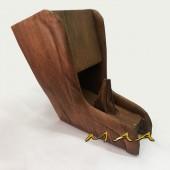 Console de madeira para Fusca - Courvin Jacarandá