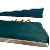 Estribo do Fusca Modelo Original , Azul , Com Friso Fino , PAR