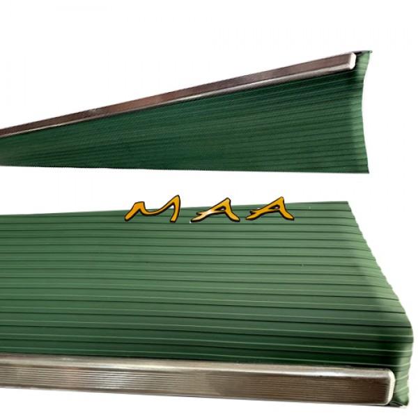 Estribo do Fusca Modelo Original , Verde , Com Friso Fino PAR