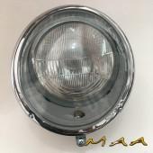 FAROL DO FUSCA ATÉ 1963 E KOMBI ATÉ 1975 (COMPLETO COM BLOCO + LAMPADA ) -PAR