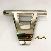 Suporte de placa do Fusca 1971 até 1996 - Dianteiro Inox
