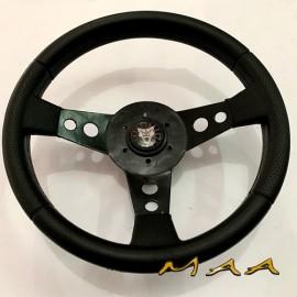 Volante modelo Puma com botão preto